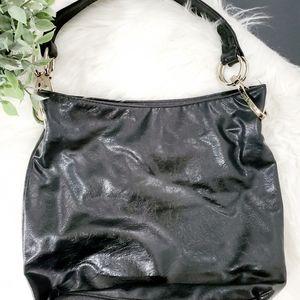 Braciano Black Shoulder Bag